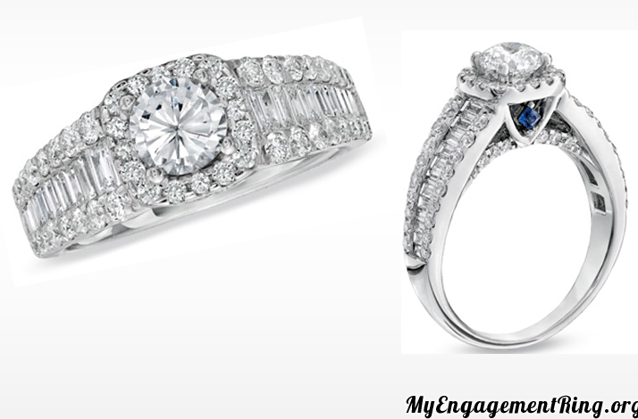 2k diamond engagement ring