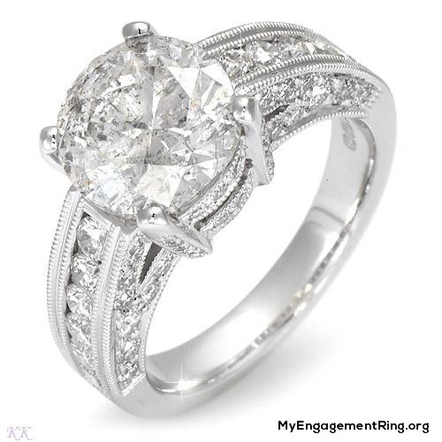 exclusive diamond engagement ring